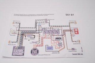 Simson S51 B1 Kabelbaum für 6V Unterbrecher