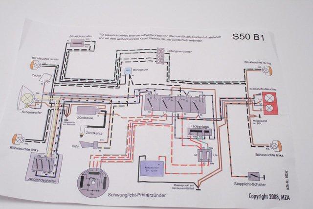 simsn s50 b1 kabelbaum f r 6v unterbrecher. Black Bedroom Furniture Sets. Home Design Ideas