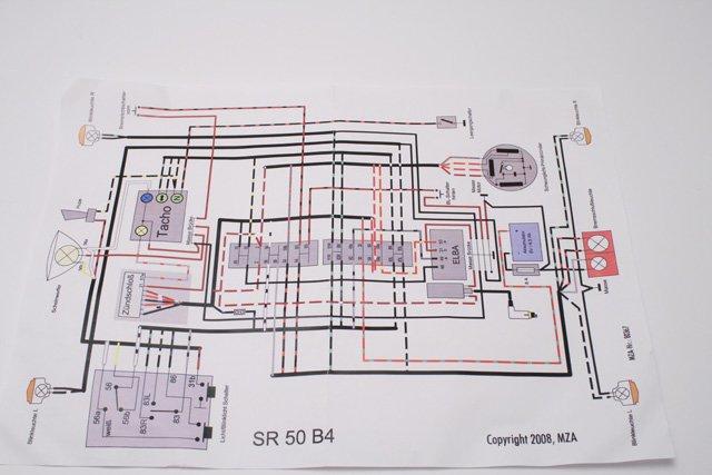 simson sr50 b4 kabelbaum inkl schaltplan. Black Bedroom Furniture Sets. Home Design Ideas
