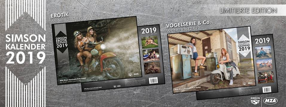 Simson Kalender 2019