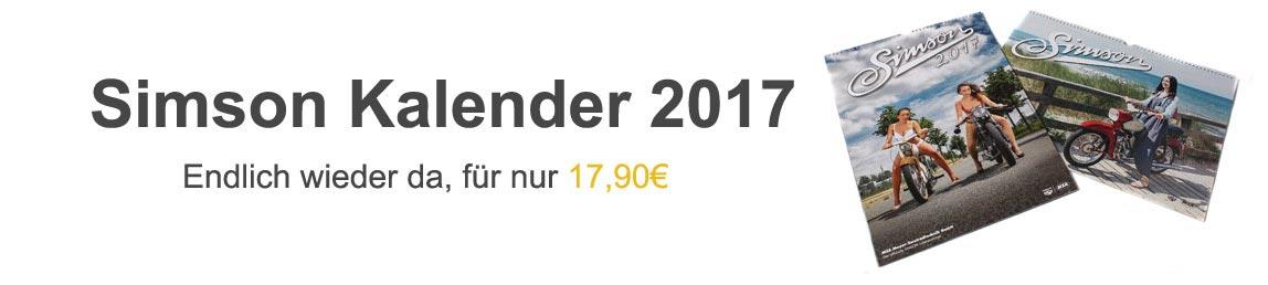 Simson Kalender 2017