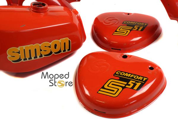 S51 Comfort Ibizarot