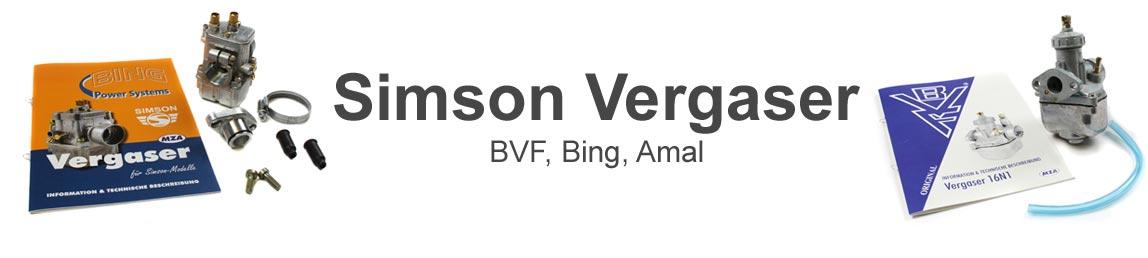 Simson BVF & Bing Vergaser